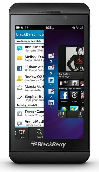 BlackBerry EZ Pass