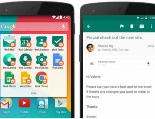 MobileIron unterstützt Android for Work
