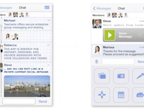 Teamwire: Sicheres Echtzeit-Messaging für Android- und iOS-Geräte hinter der Firmen-Firewall