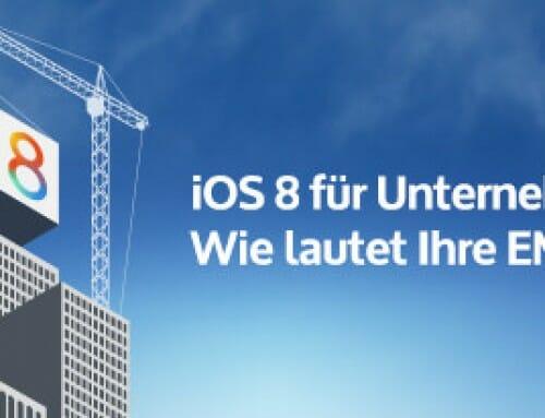 Was bedeutet iOS 8 für Unternehmen?