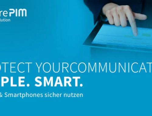 SecurePIM verschlüsselt E-Mail und Daten auf dem Smartphone