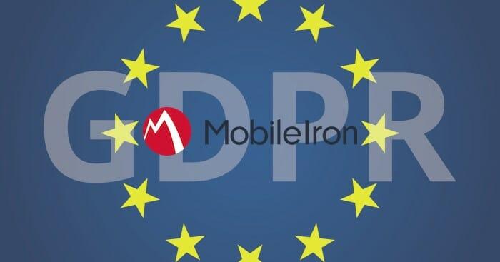 MobileIron GDPR ready