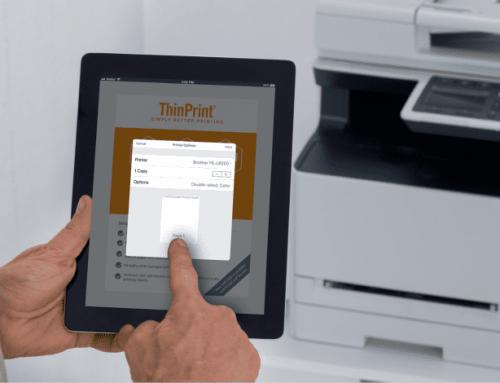 ThinPrint Mobile Print – Mobiles Drucken für Unternehmen