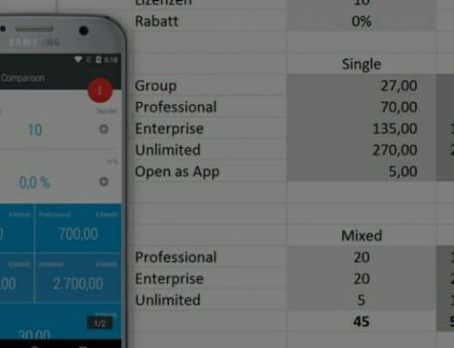Open as App – Wie Sie aus Ihrer Excel-Tabelle eine App machen
