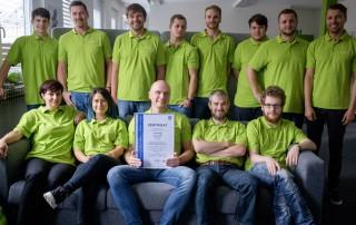 Die anyplace IT GmbH ist jetzt zertifiziert nach ISO/IEC 27001:2013