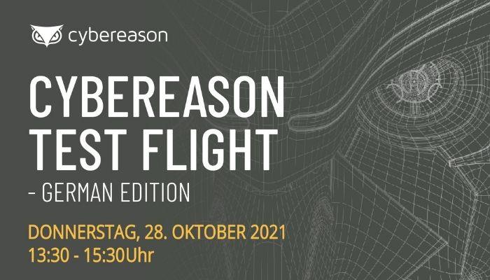 CYBEREASON TEST FLIGHT